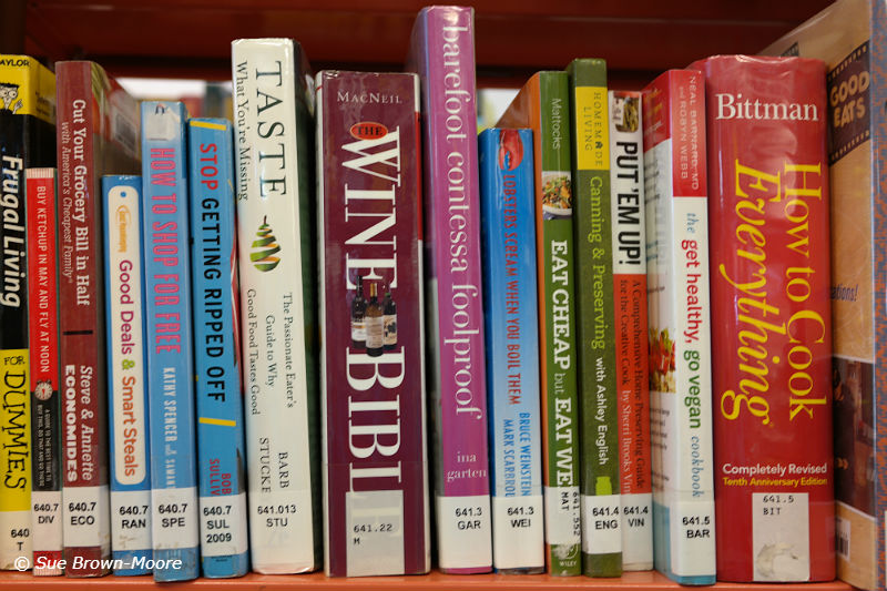 You can learn about cooking and wine at your public library...