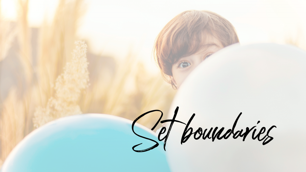 Working from home: Set boundaries