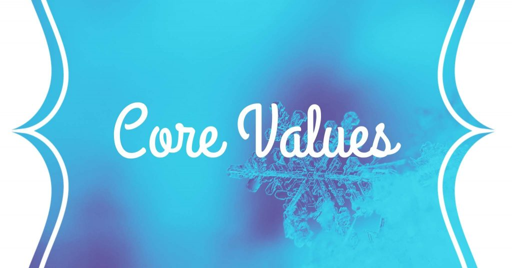 Characterization core values